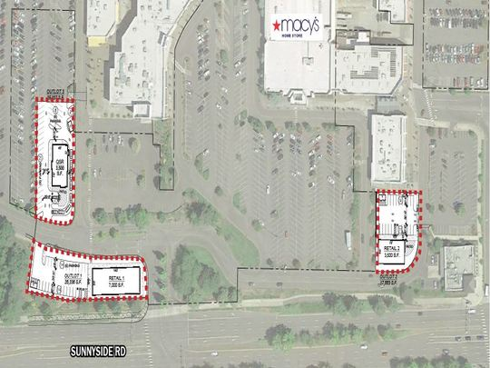Clackamas Town Center - Macys Pads