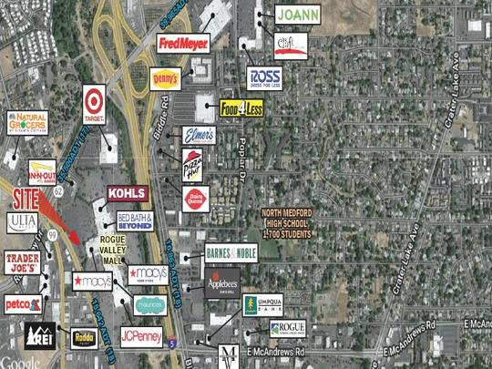 Rogue Valley Mall - Macy's Pads